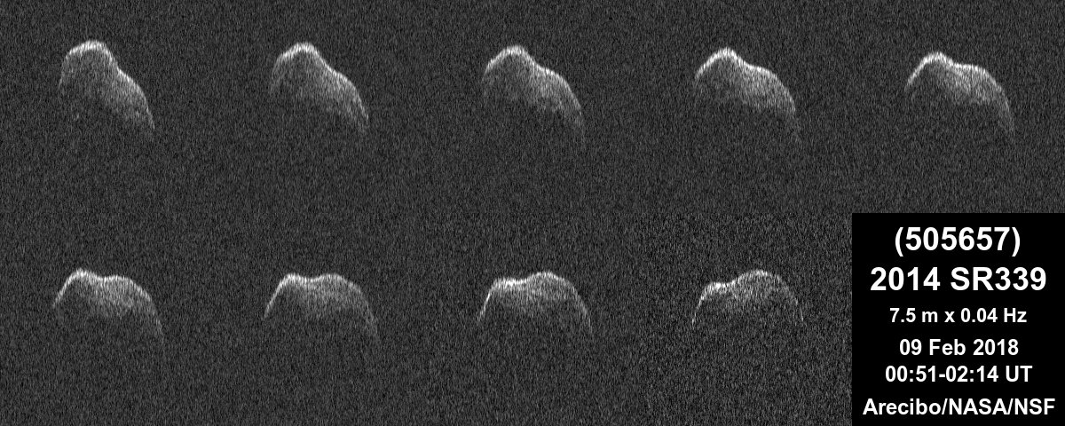Near-Earth asteroid (505657) 2014 SR339