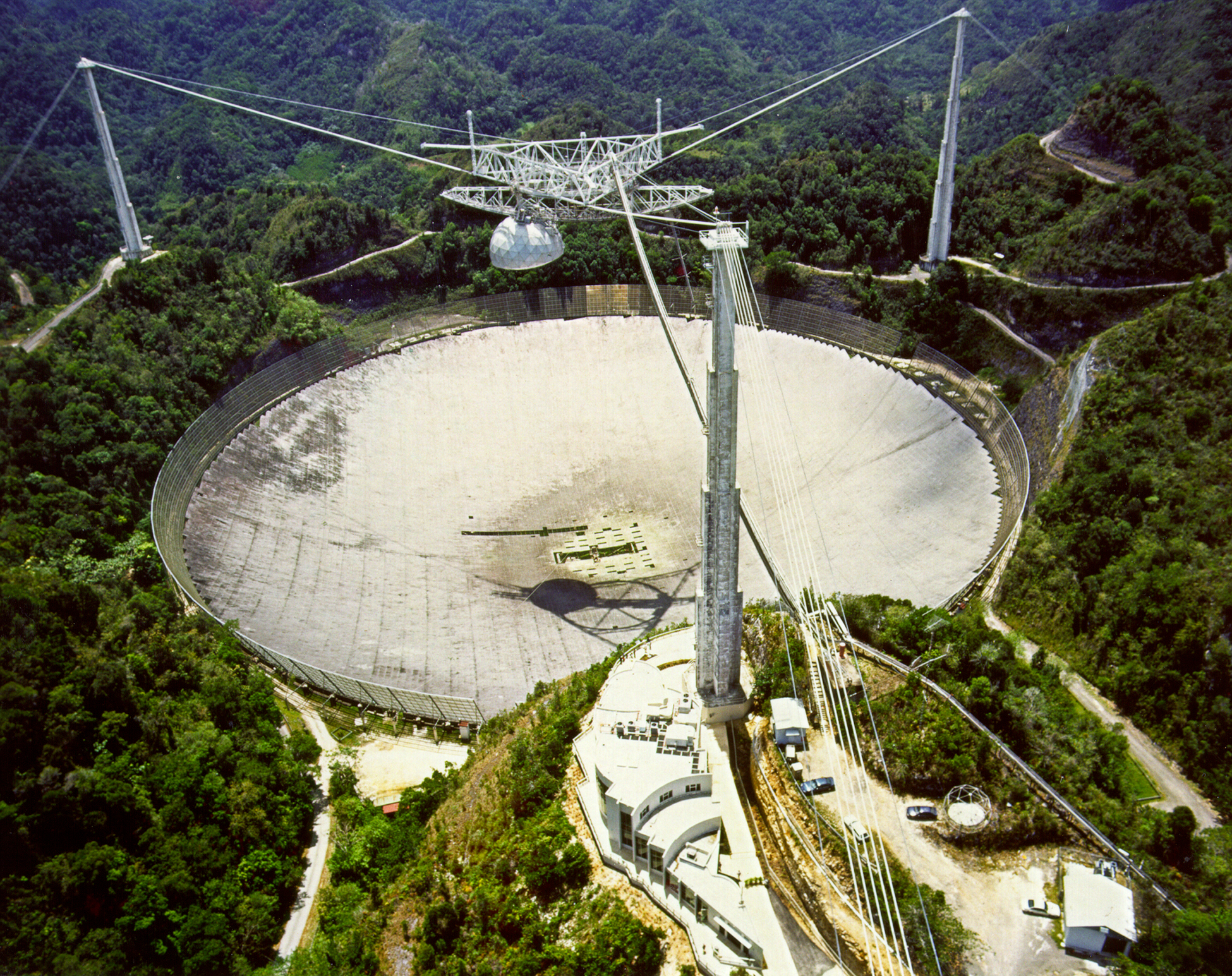 General views of the arecibo observatory