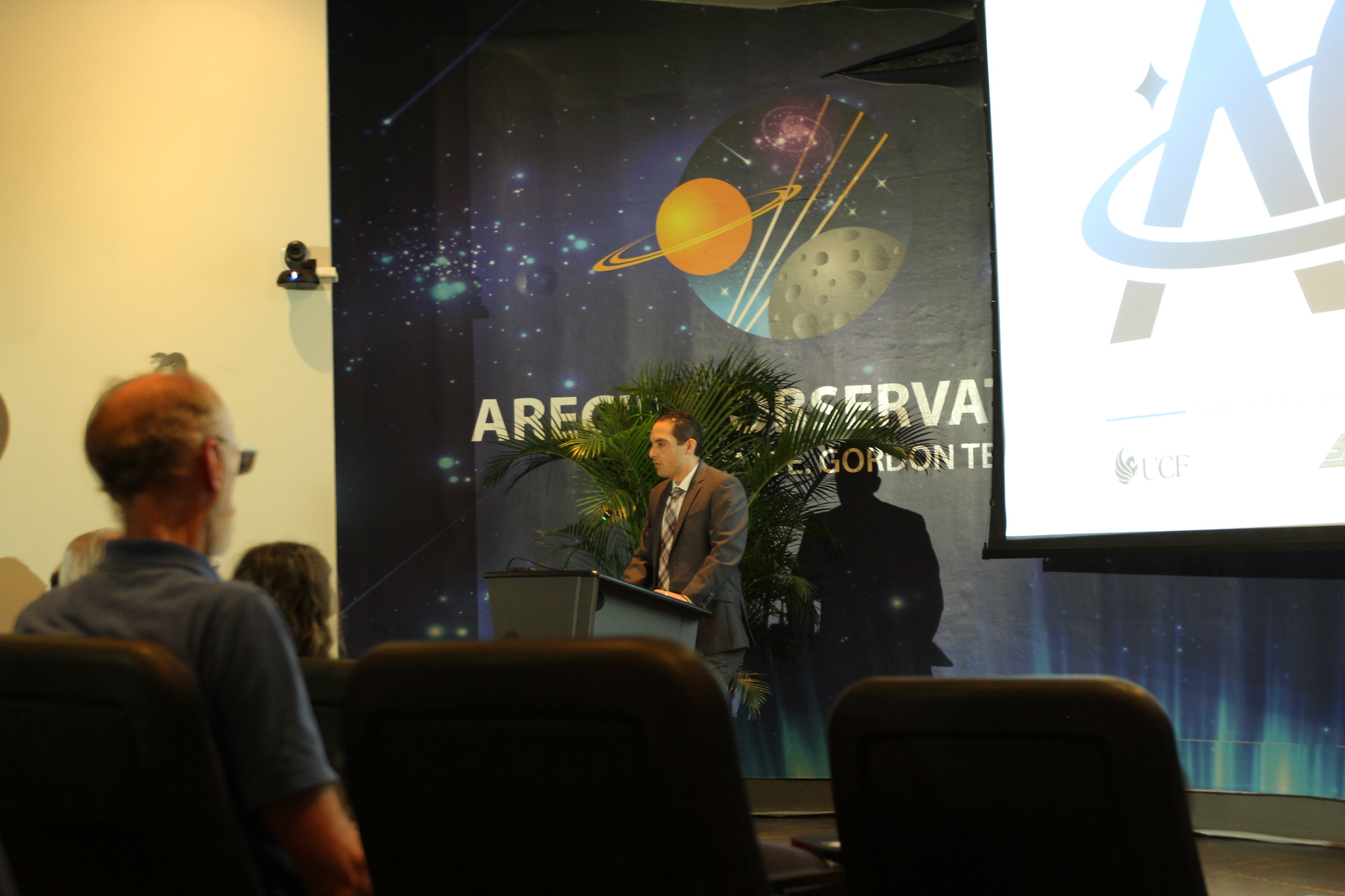 Inauguration Ceremony (UCF, Yang, UMET) | The Arecibo Observatory