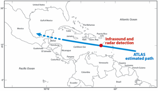 Asteroid Arrives Early for Puerto Rico's Asteroid Day