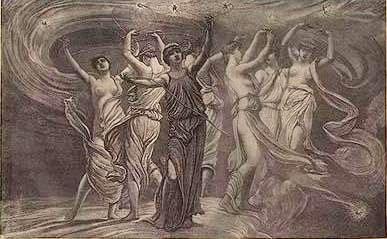 mythology of the seven sisters pleiads